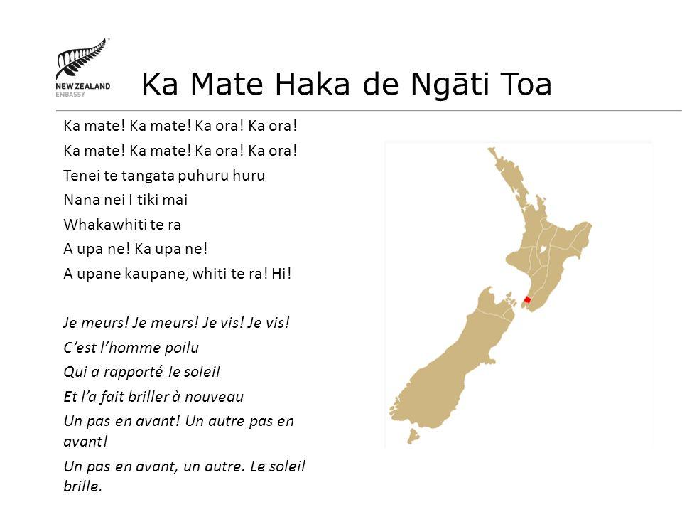 Ka Mate Haka de Ngāti Toa