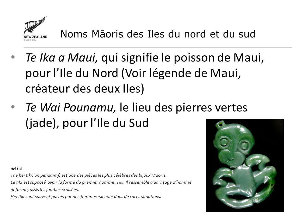 Te Wai Pounamu, le lieu des pierres vertes (jade), pour l'Ile du Sud