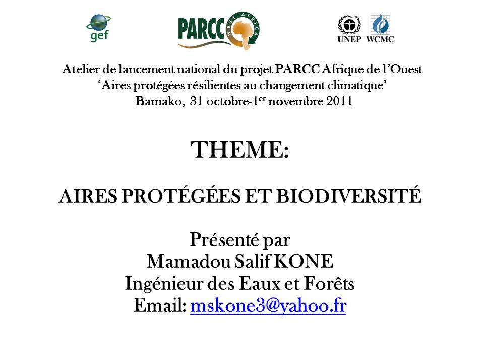 Aires protégées et biodiversité Ingénieur des Eaux et Forêts