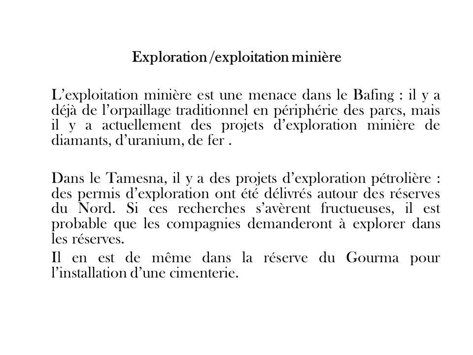 Exploration /exploitation minière