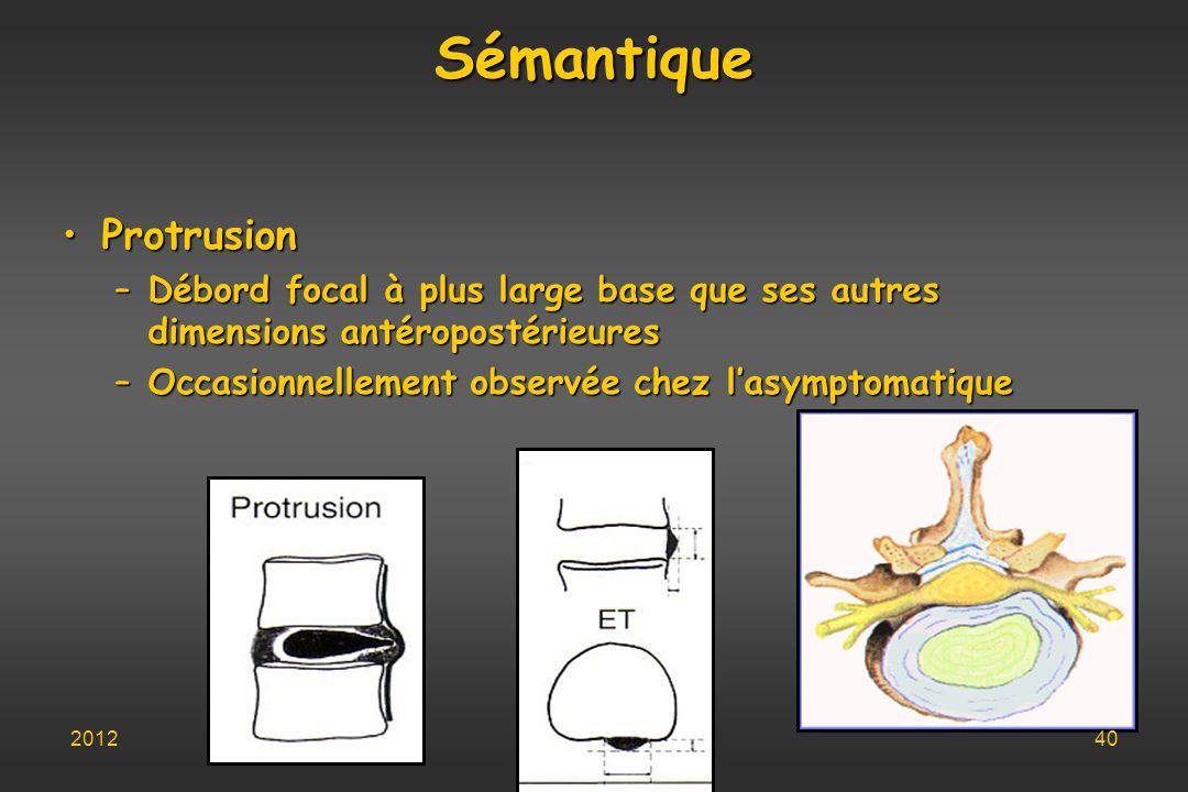 Sémantique Protrusion
