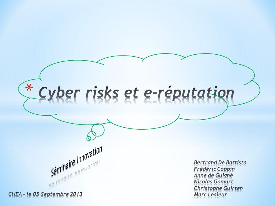 Cyber risks et e-réputation