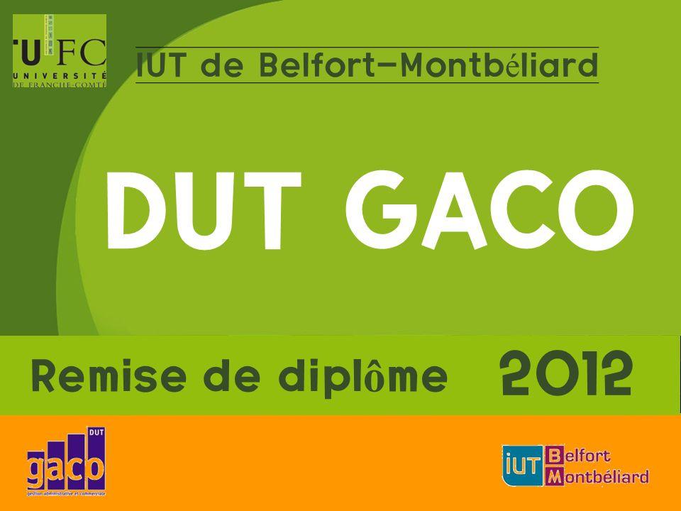 IUT de Belfort-Montbéliard DUT GACO