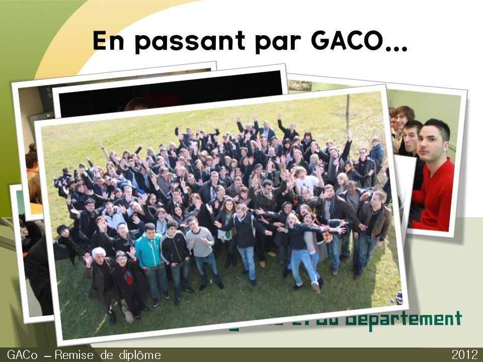 En passant par GACO... Agenda 21 du département