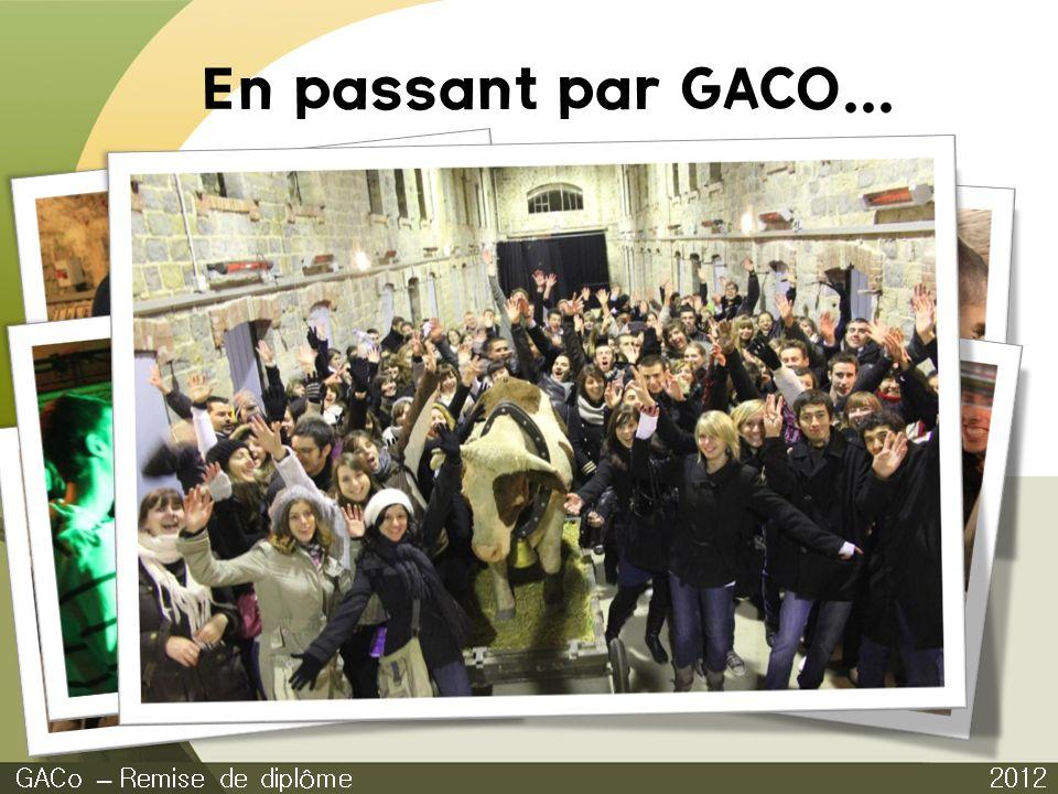 En passant par GACO... Journée culturelle GACo – Remise de diplôme
