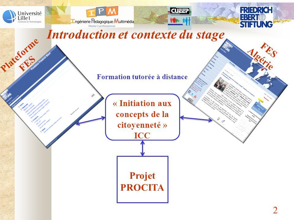 « Initiation aux concepts de la citoyenneté » ICC
