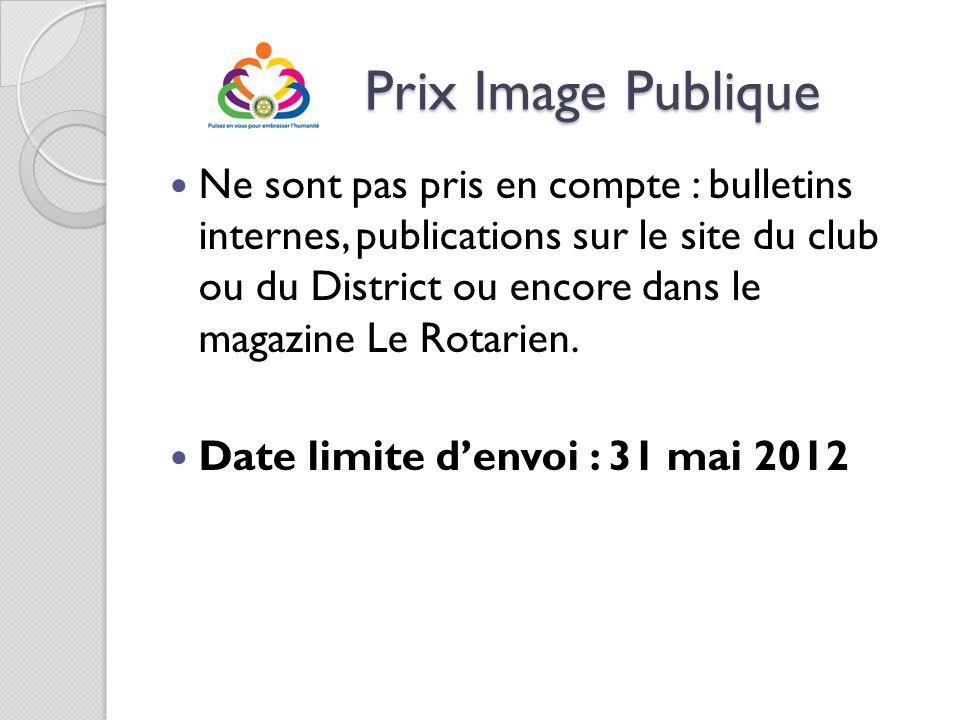 Prix Image Publique