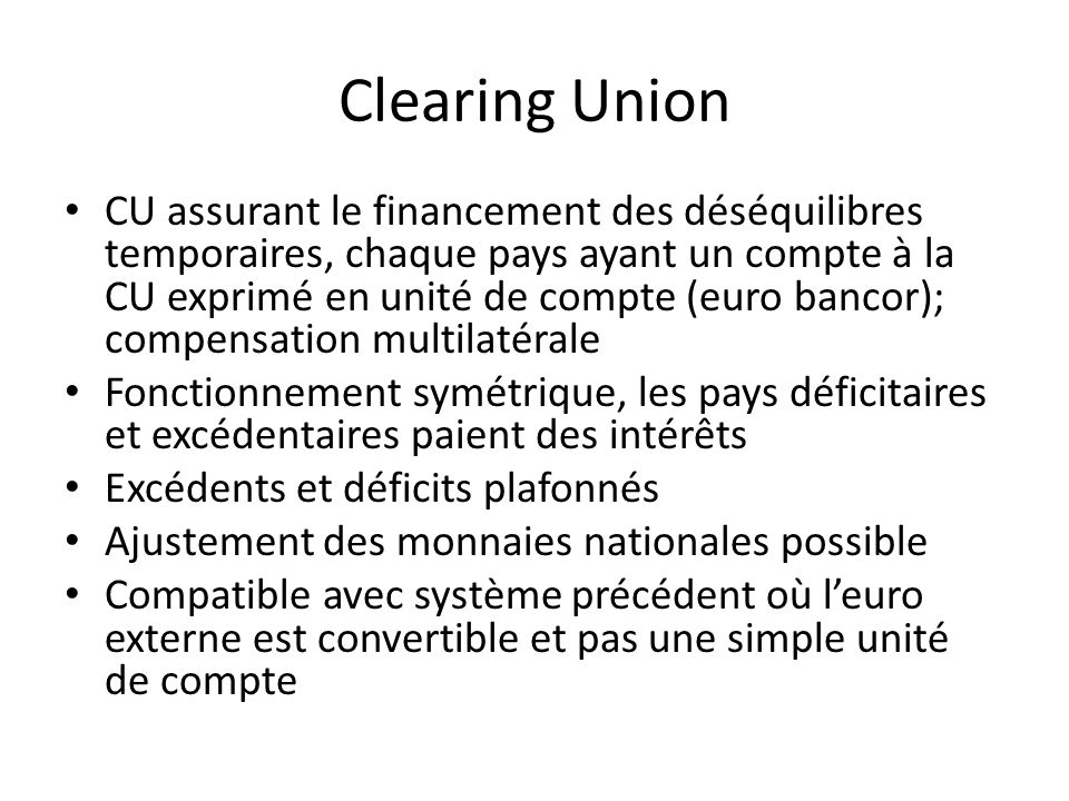 Clearing Union