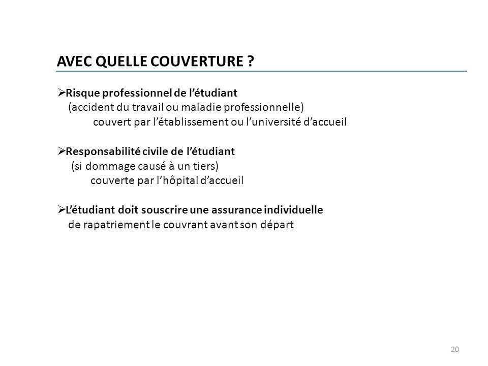 AVEC QUELLE COUVERTURE