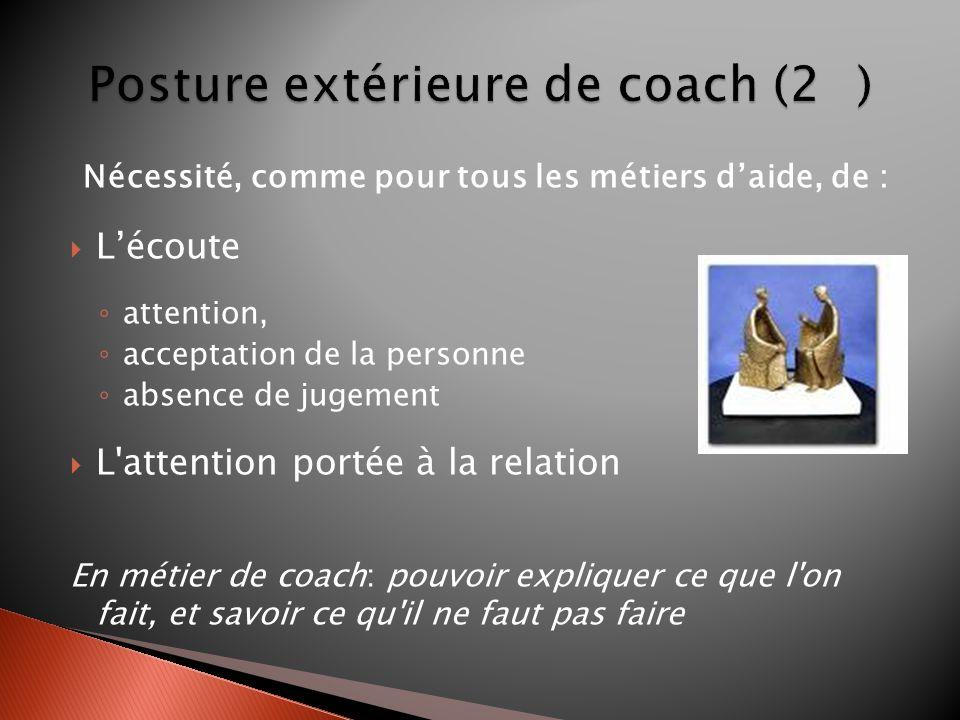 Posture extérieure de coach (2 )