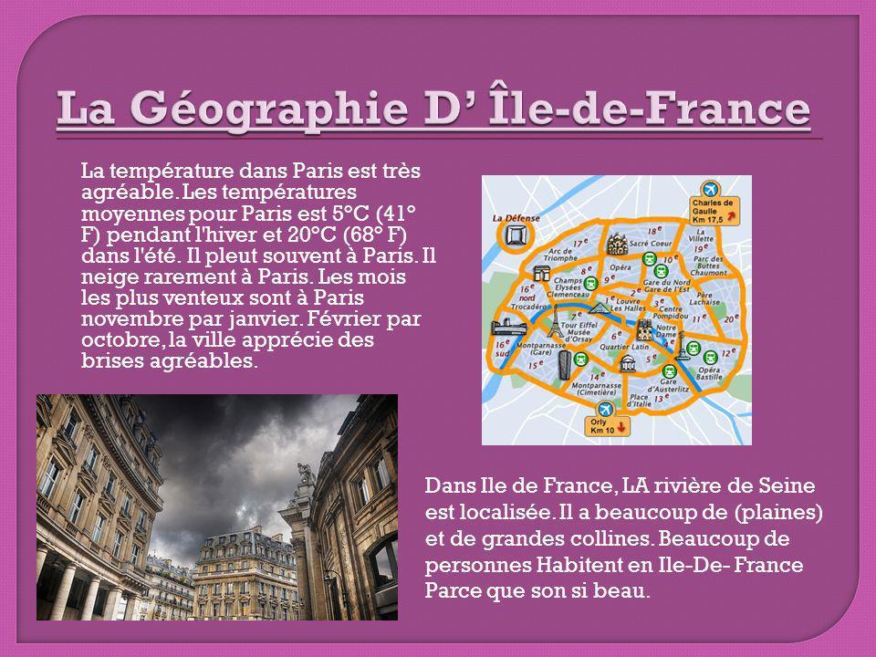 La Géographie D' Île-de-France