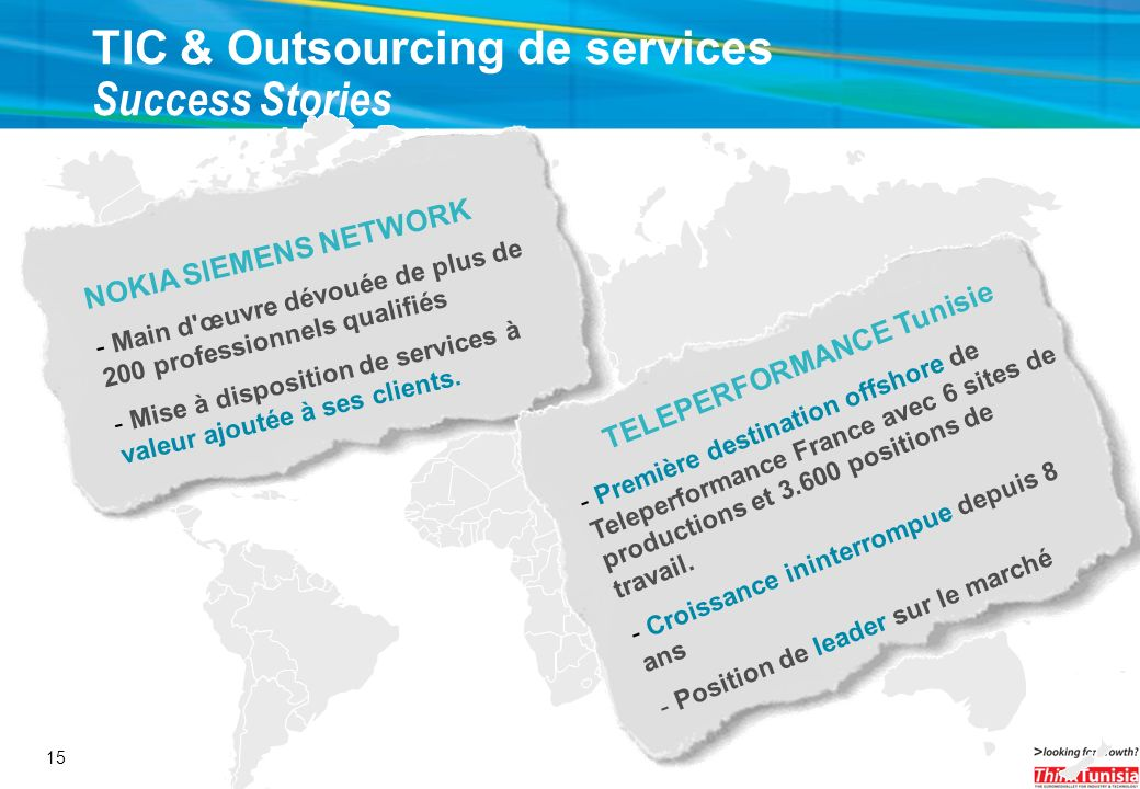 TIC & Outsourcing de services Success Stories