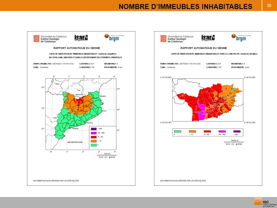 NOMBRE D'IMMEUBLES INHABITABLES