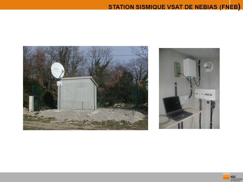 STATION SISMIQUE VSAT DE NEBIAS (FNEB)