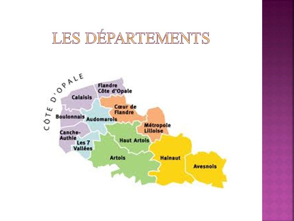 Les départements