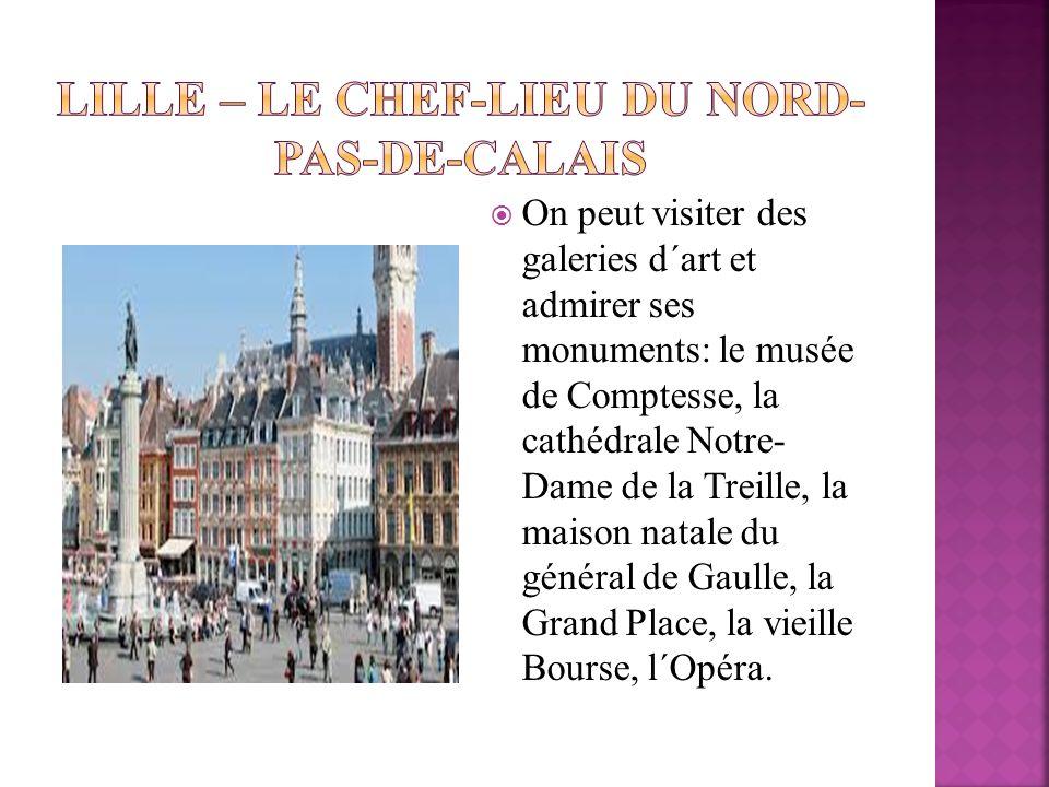 Lille – le chef-lieu du Nord-Pas-de-Calais