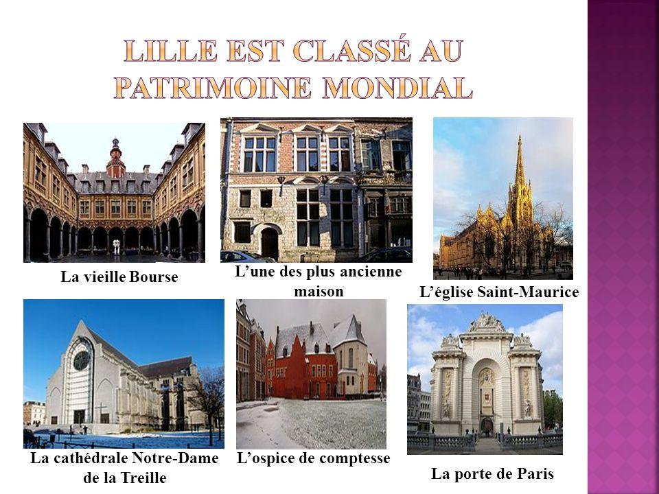 Lille est classé au patrimoine mondial
