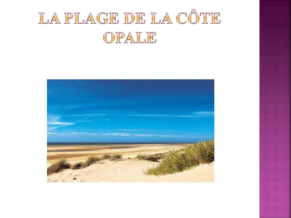 La plage de la côte Opale