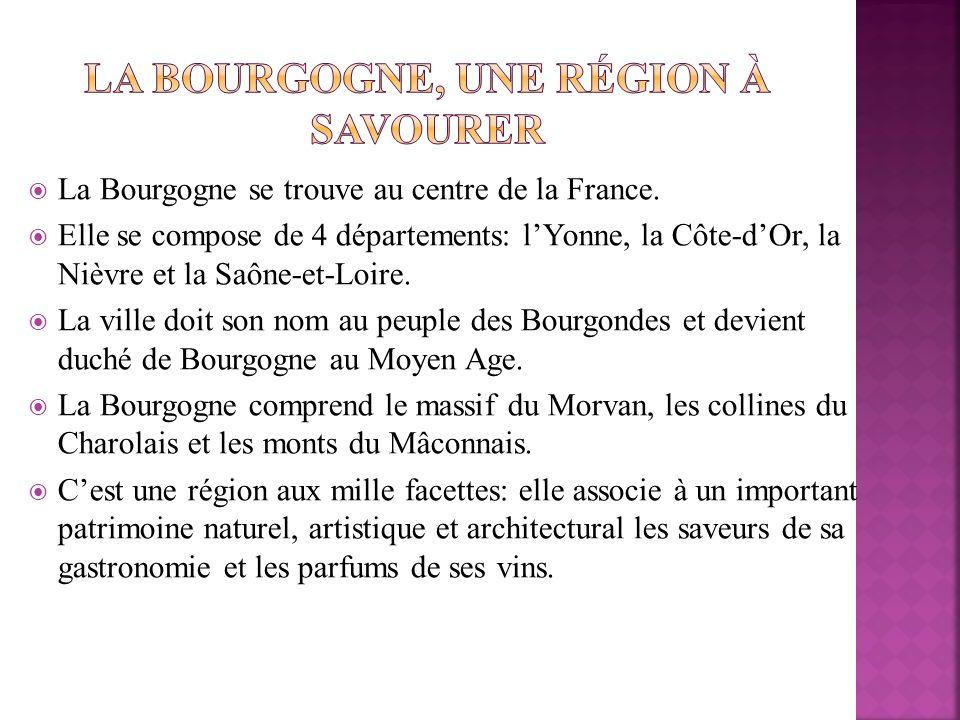 La Bourgogne, une région à savourer