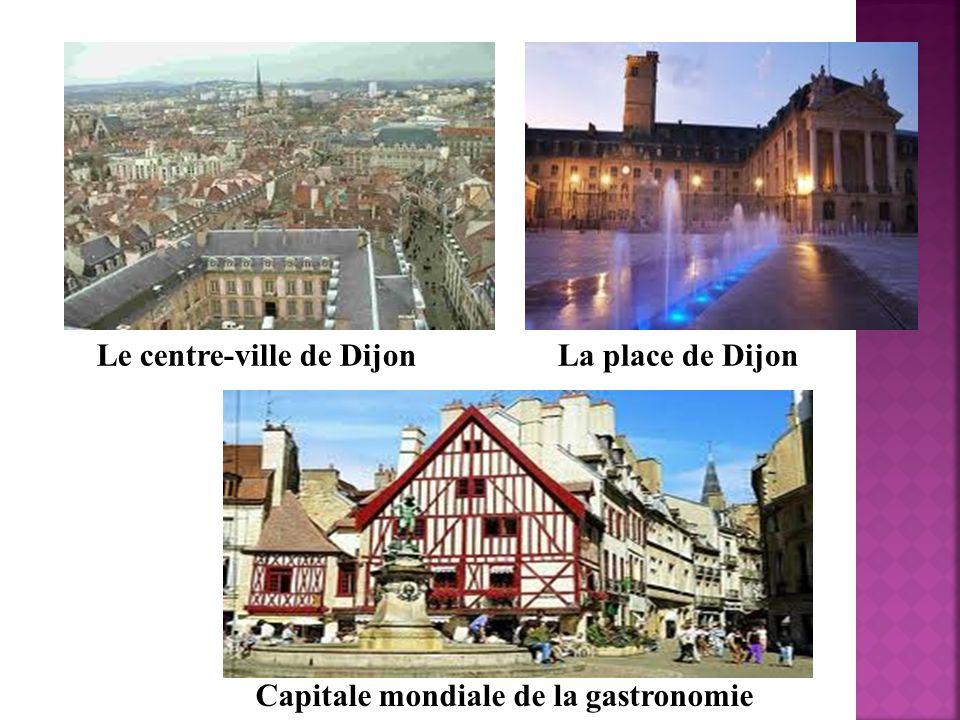 Le centre-ville de Dijon