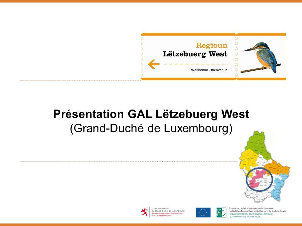 Présentation GAL Lëtzebuerg West (Grand-Duché de Luxembourg)
