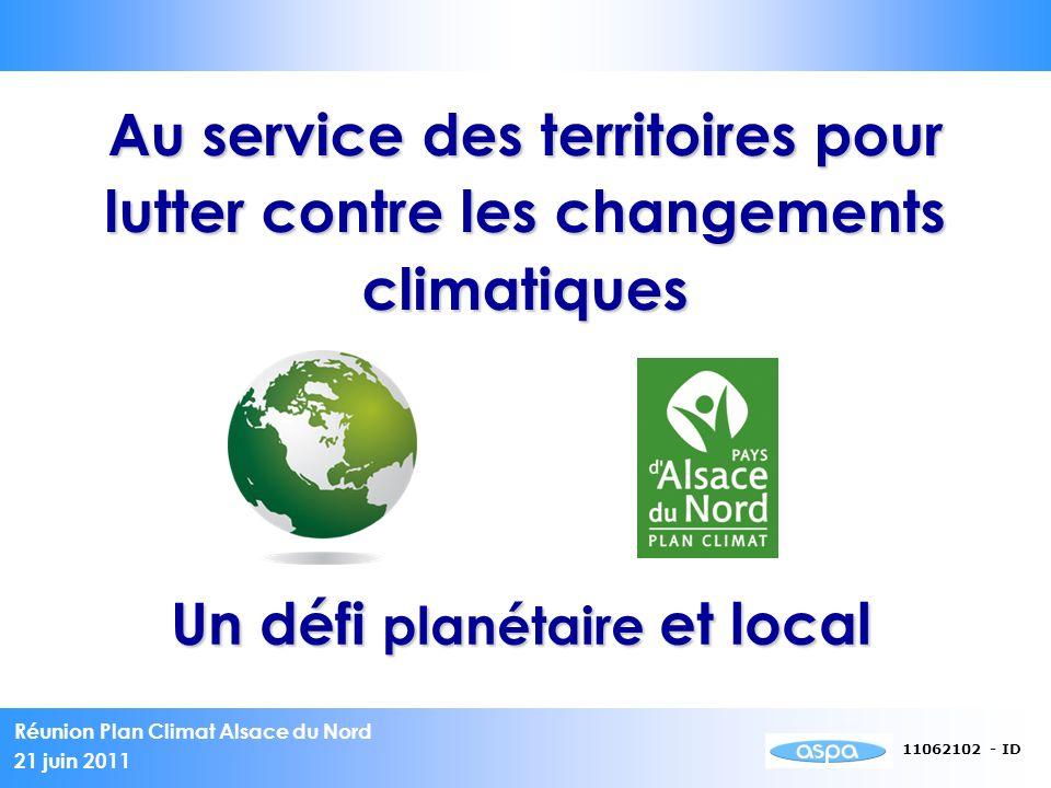 Un défi planétaire et local