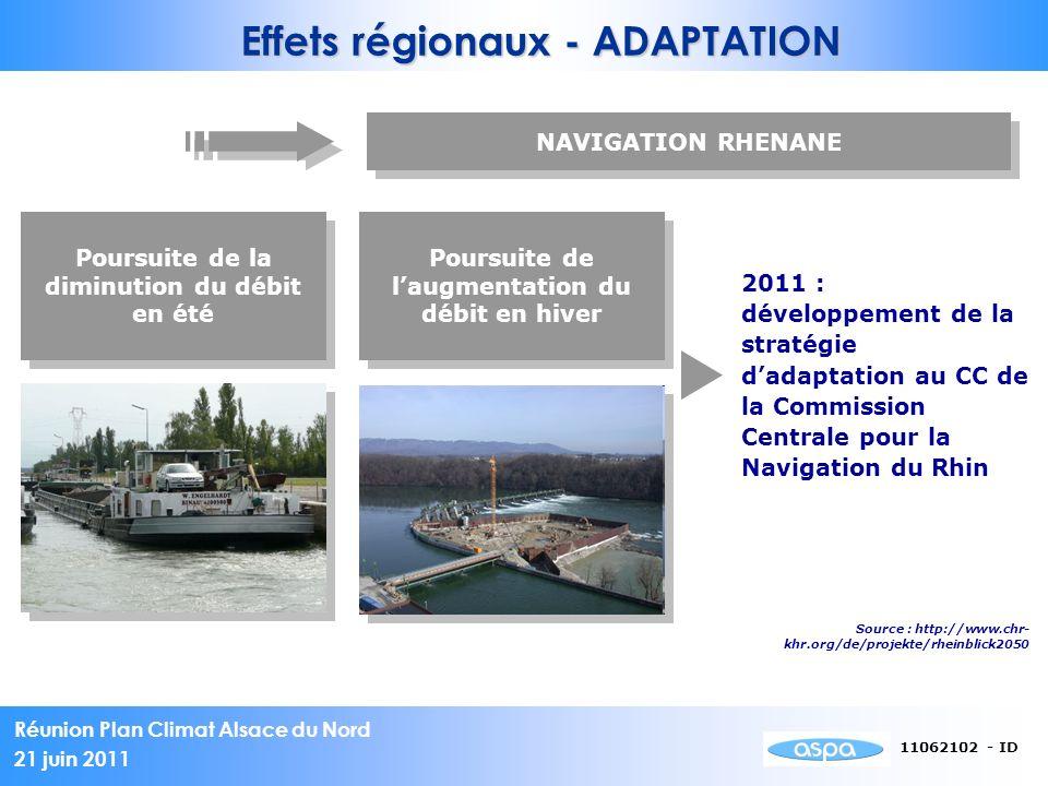 Effets régionaux - ADAPTATION