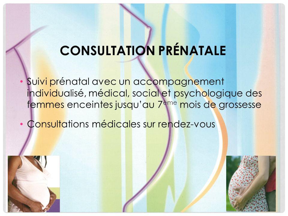 Consultation prénatale