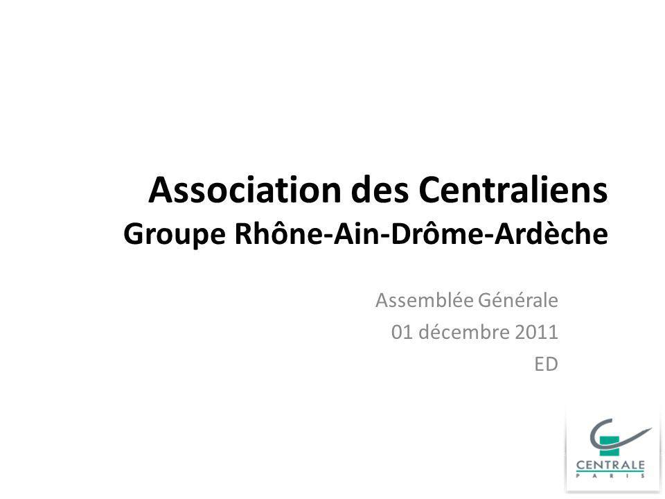 Association des Centraliens Groupe Rhône-Ain-Drôme-Ardèche