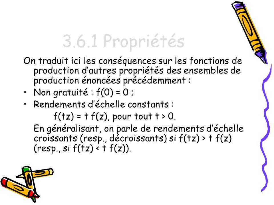 3.6.1 Propriétés