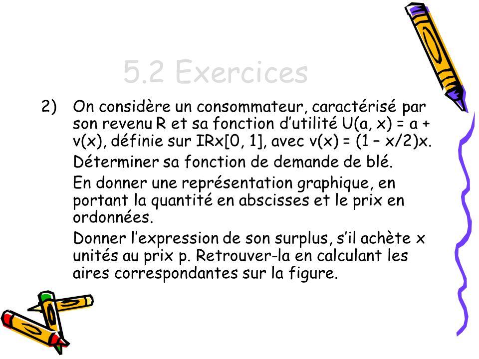 5.2 Exercices