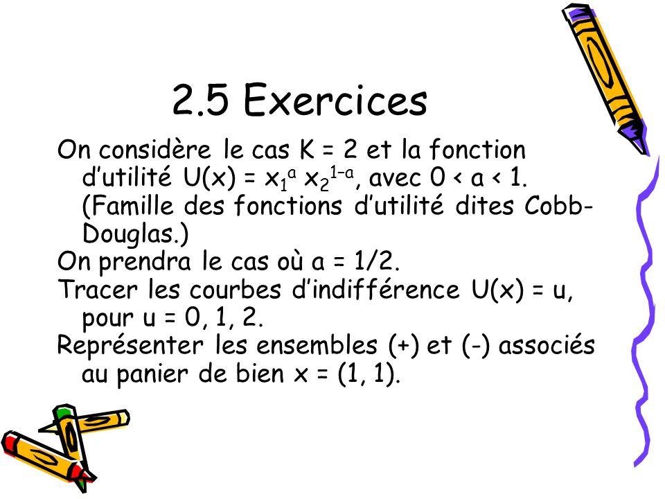 2.5 Exercices