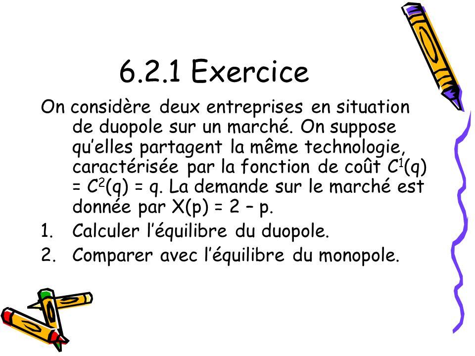 6.2.1 Exercice