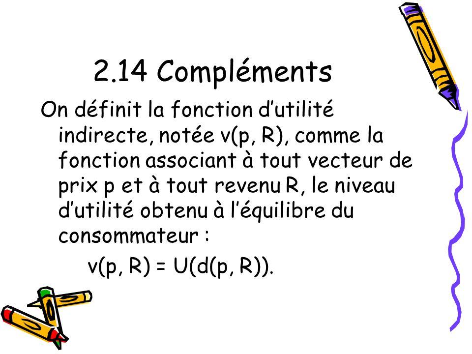 2.14 Compléments