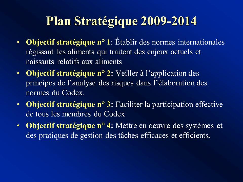 Plan Stratégique 2009-2014