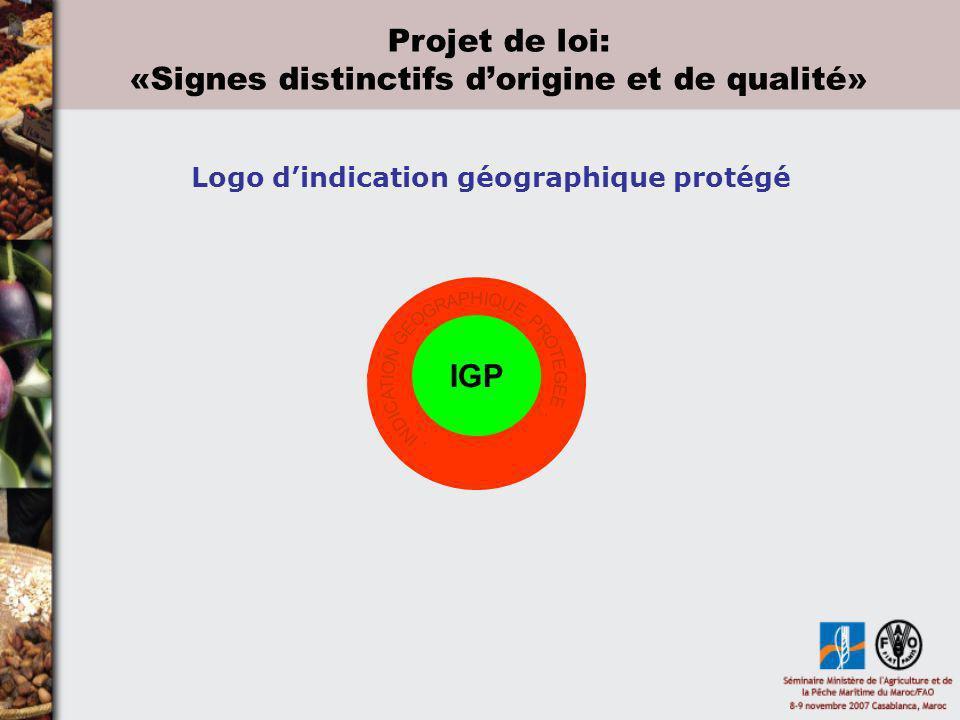 Logo d'indication géographique protégé