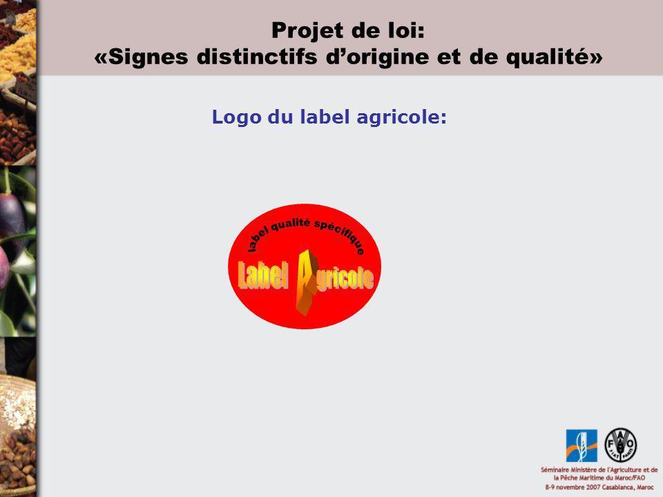 Logo du label agricole: