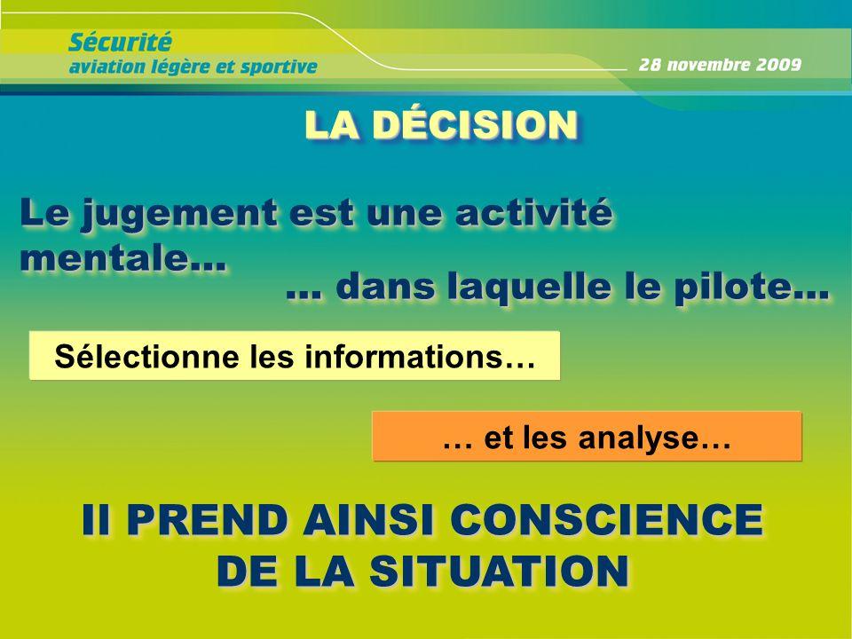 Sélectionne les informations…