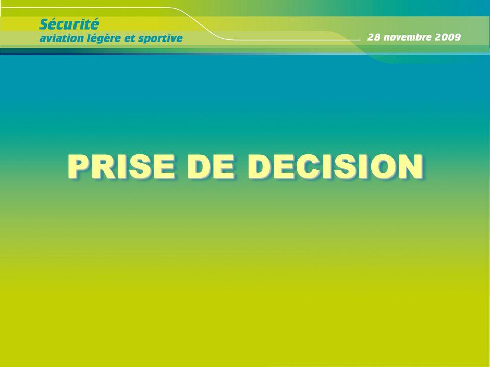 PRISE DE DECISION