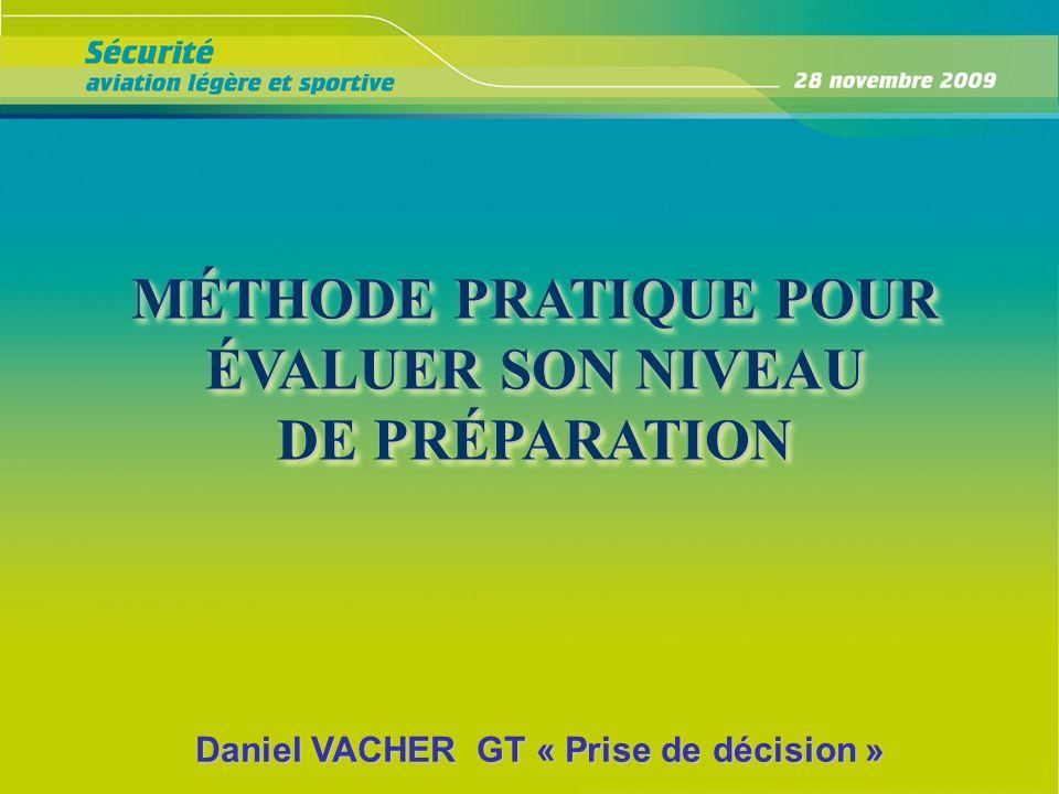 MÉTHODE PRATIQUE POUR ÉVALUER SON NIVEAU DE PRÉPARATION
