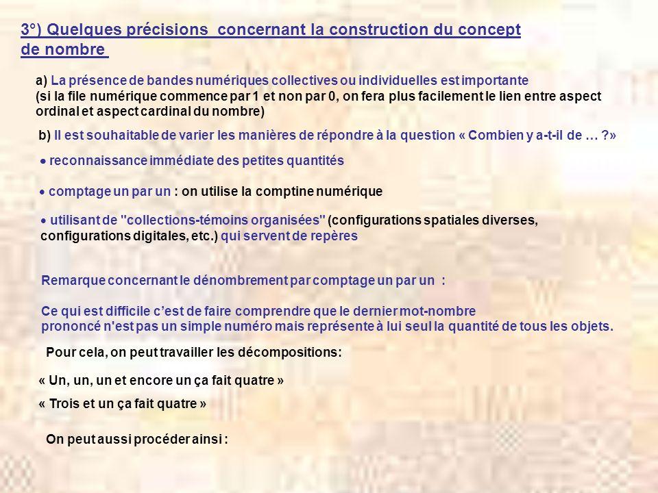 3°) Quelques précisions concernant la construction du concept