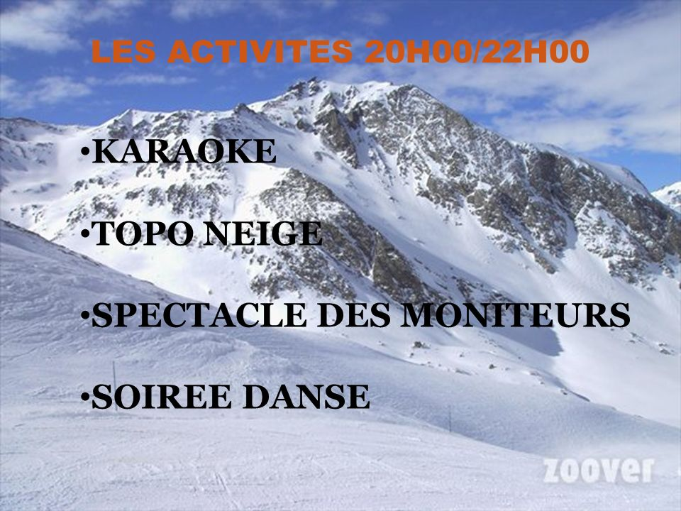 SPECTACLE DES MONITEURS SOIREE DANSE