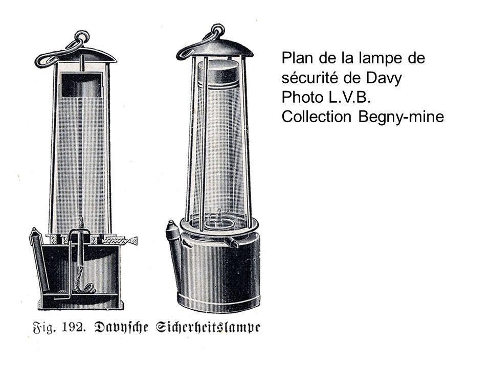 Plan de la lampe de sécurité de Davy