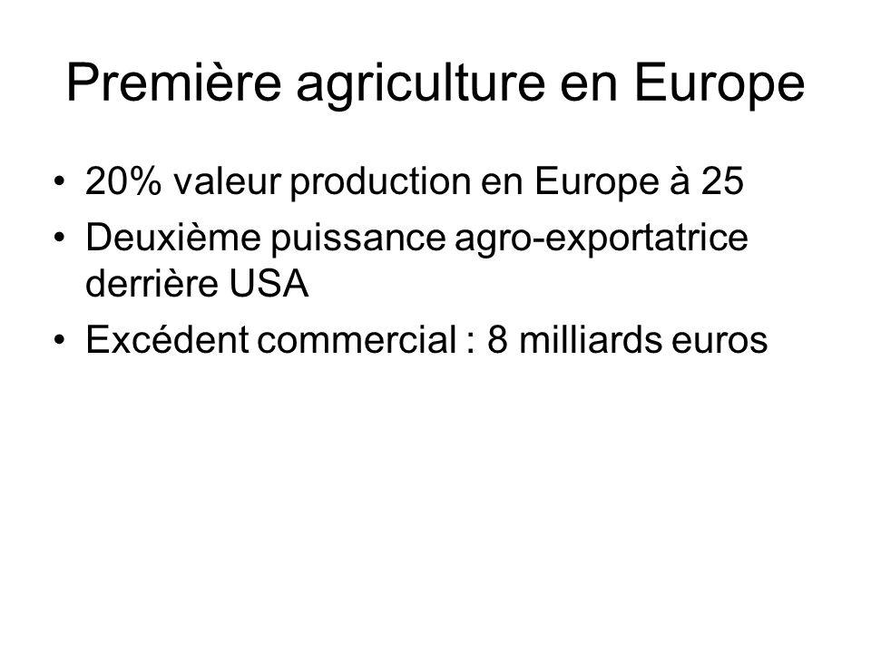 Première agriculture en Europe