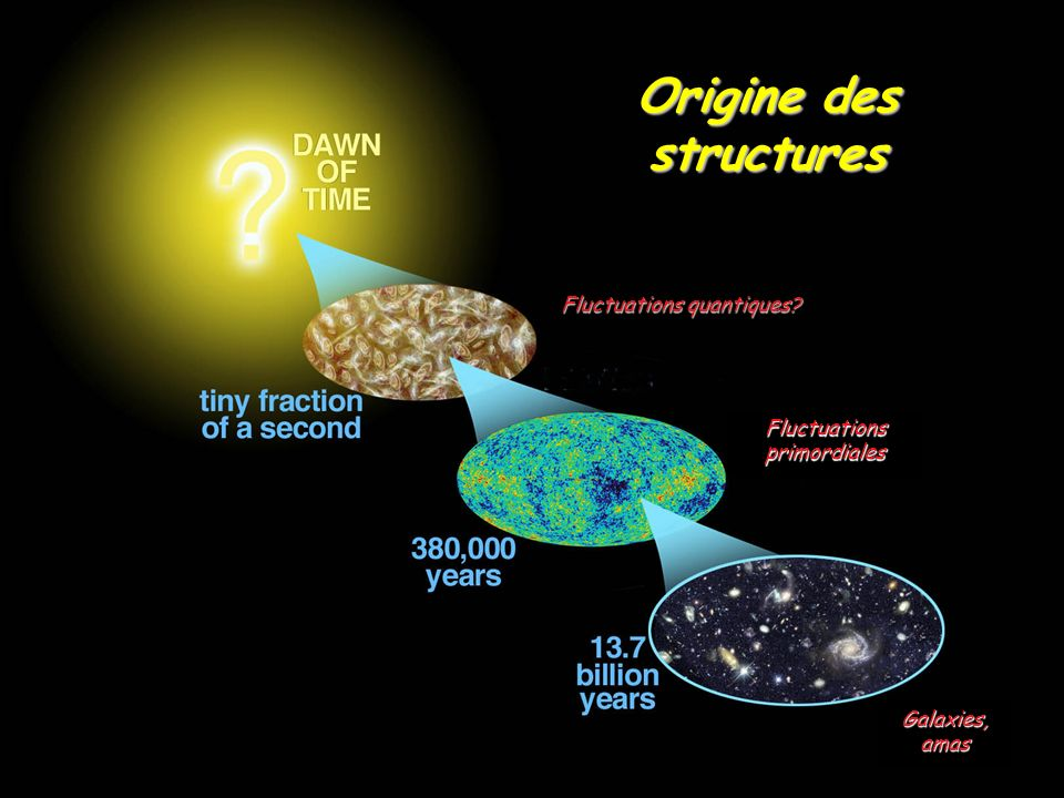 Origine des structures