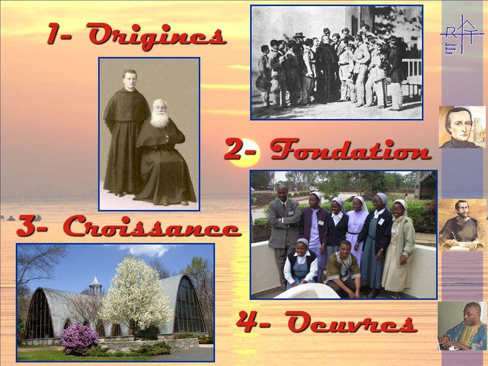 1- Origines 2- Fondation 3- Croissance 4- Oeuvres