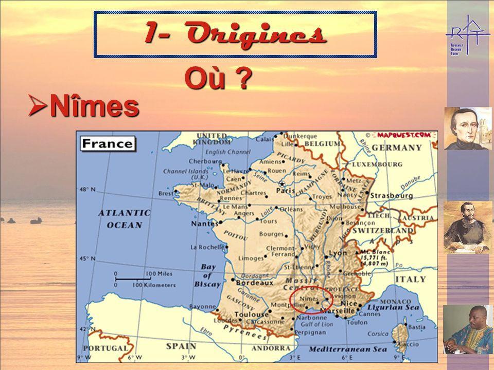 1- Origines Où Nîmes