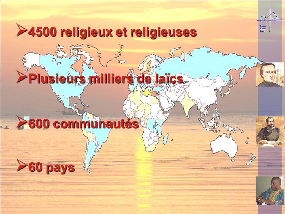 4500 religieux et religieuses