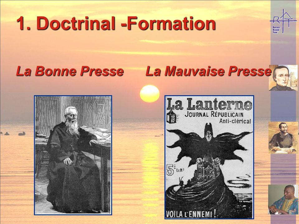 Doctrinal -Formation La Bonne Presse La Mauvaise Presse