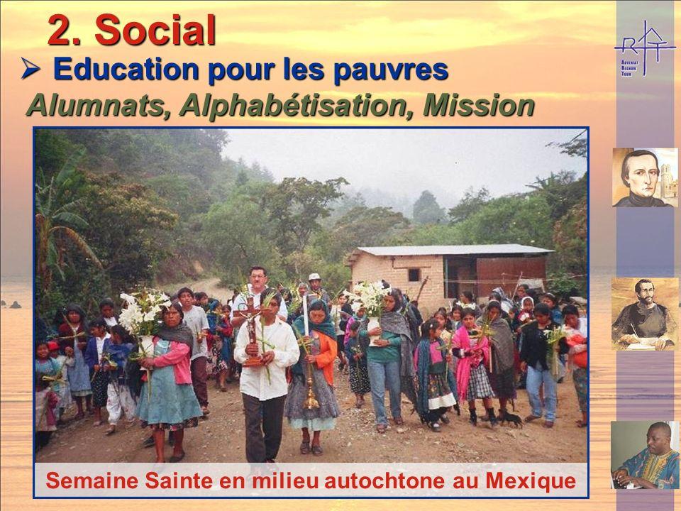 2. Social Education pour les pauvres